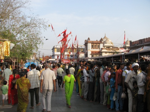 At the Kaila Devi Temple
