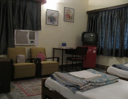 A room at the karans guesthouse,jaipur,rajasthan,india
