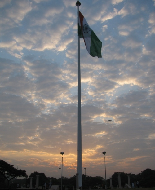 National Flag Of India In Jaipur