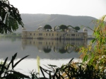Sunrise At The Man Sagar Lake, Jal Mahal Palace