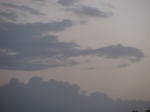 Clouds at sunset from the Karans Guesthouse,Jaipur